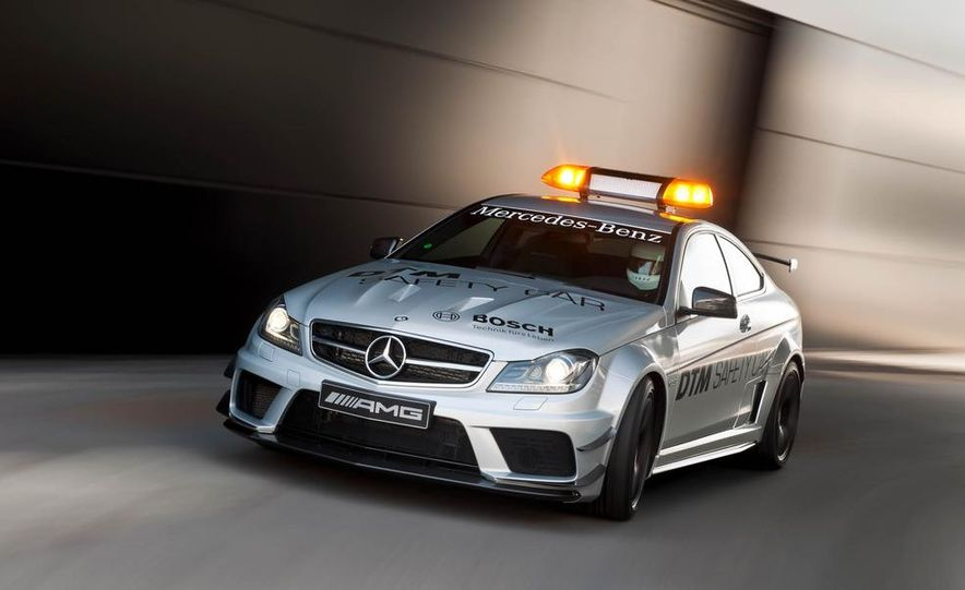 MercedesBenz C63 AMG Coupe Black Series DTM Safety Car Pictures