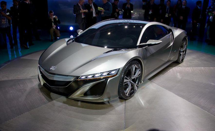 Acura NSX concept - Slide 14