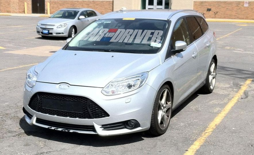 2013 Ford Focus ST wagon (test mule) - Slide 1