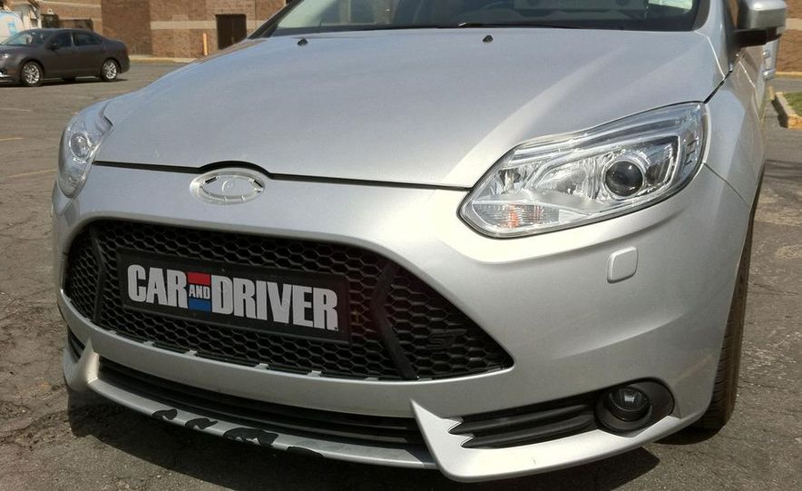 2013 Ford Focus ST wagon (test mule) - Slide 5