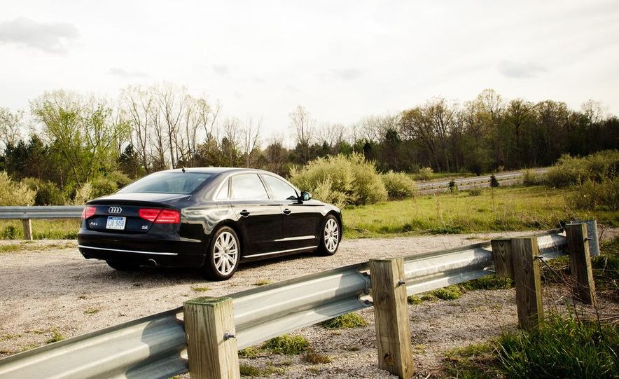 2012 Audi A8L 4.2 FSI Quattro - Slide 53