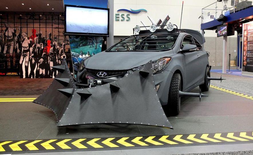 2013 Hyundai Elantra Coupe Zombie Survival Edition - Slide 1