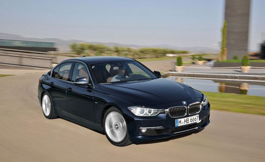 2014 BMW 3-series Five-Door Hatchback (spy photo) - Slide 28