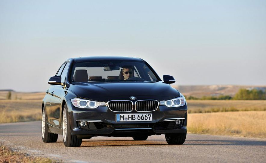 2014 BMW 3-series Five-Door Hatchback (spy photo) - Slide 30
