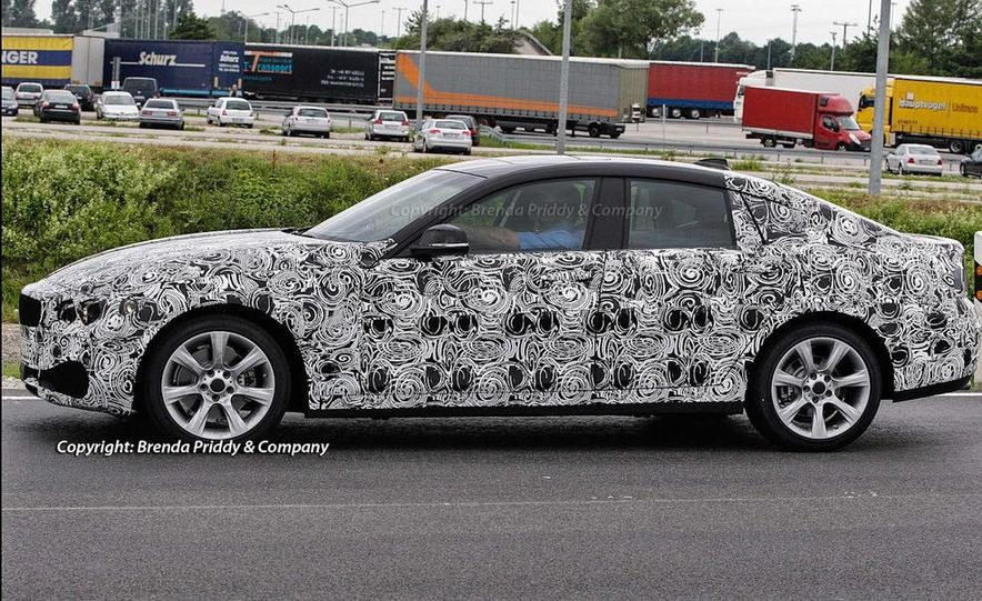 2014 BMW 3-series Five-Door Hatchback (spy photo) - Slide 2