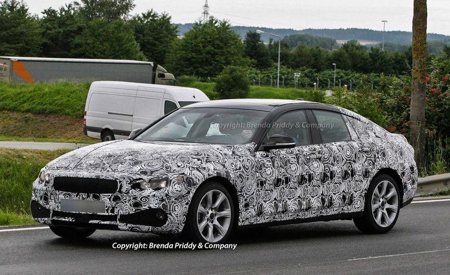 2014 BMW 3-series Five-Door Hatchback (spy photo) - Slide 3