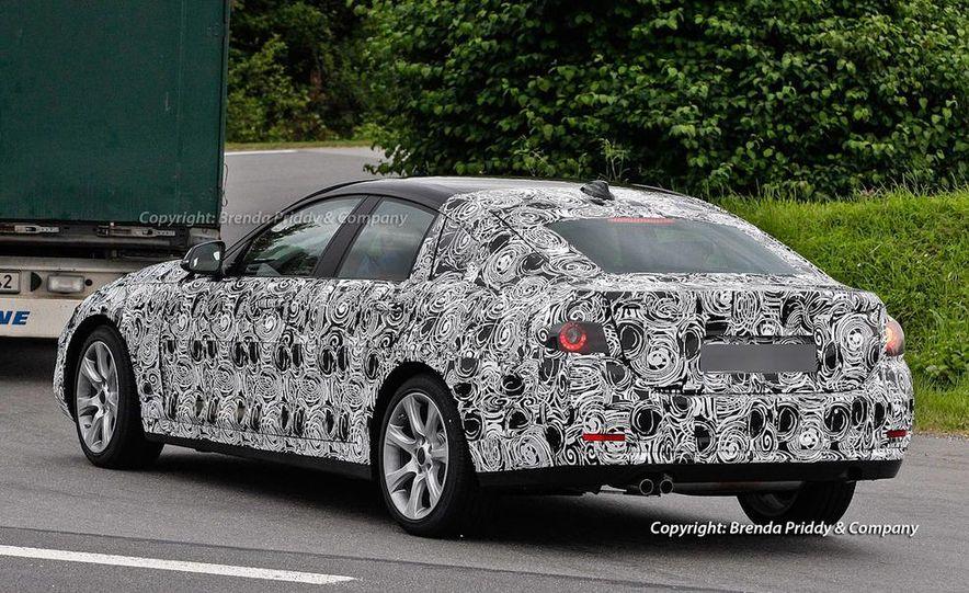 2014 BMW 3-series Five-Door Hatchback (spy photo) - Slide 5