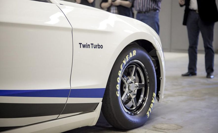 Ford Racing Mustang Cobra Jet Twin Turbo concept - Slide 18