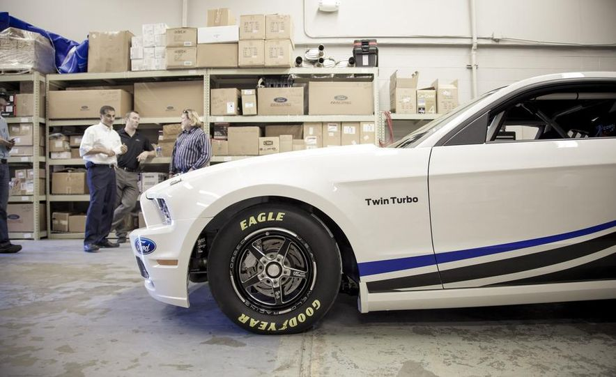 Ford Racing Mustang Cobra Jet Twin Turbo concept - Slide 24