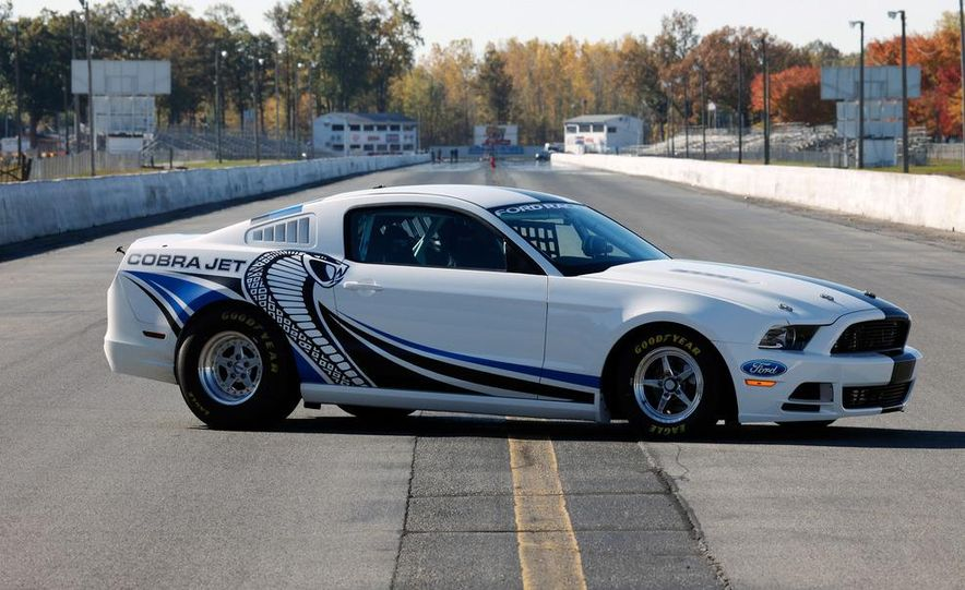 Ford Racing Mustang Cobra Jet Twin Turbo concept - Slide 61
