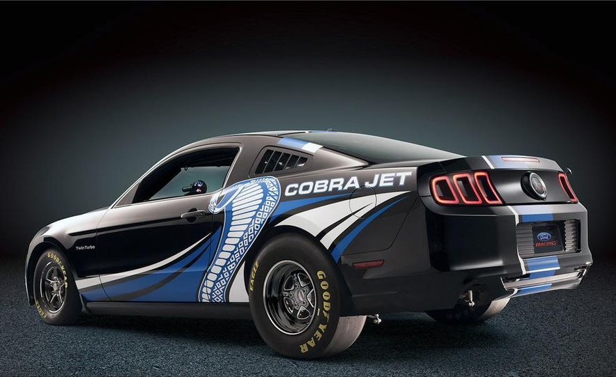 Ford Racing Mustang Cobra Jet Twin Turbo concept - Slide 82