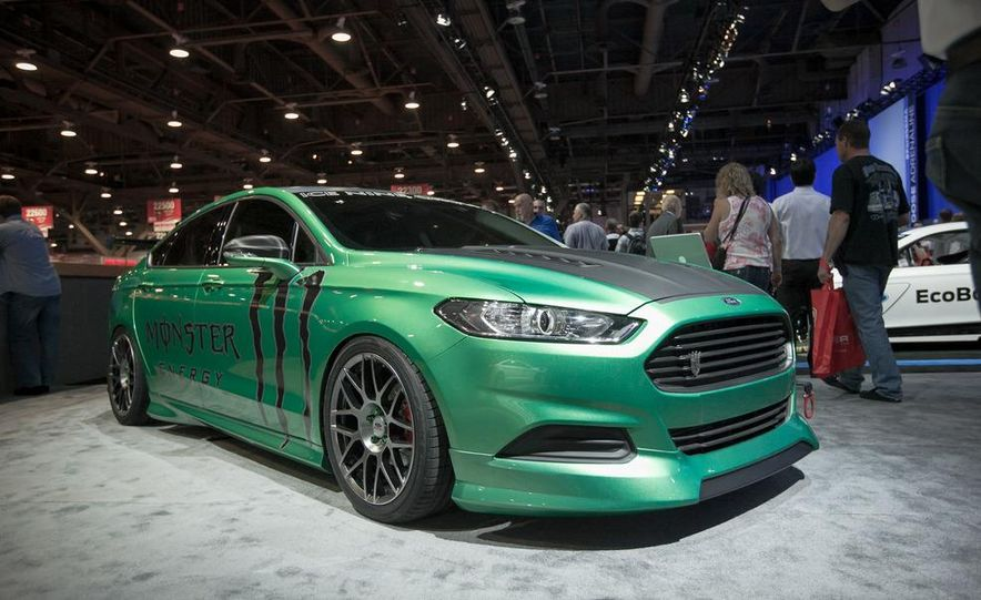 2013 Ford Fusion SE Euro Series by 3dCarbon - Air Design - Slide 4