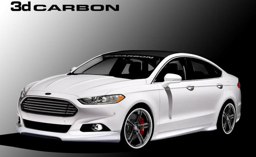 2013 Ford Fusion SE Euro Series by 3dCarbon - Air Design - Slide 13