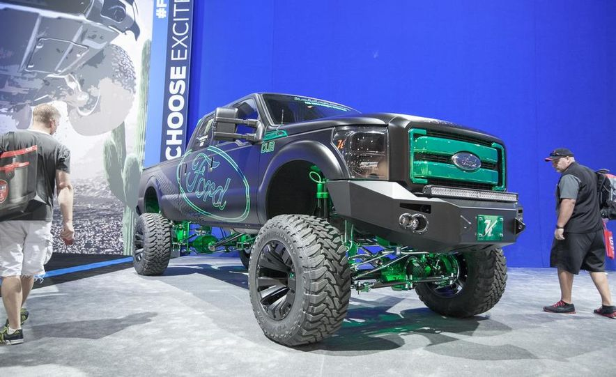 2012 Ford F-250 Super Duty XLT Crew Cab by Kelderman Air Suspension Systems - Slide 1