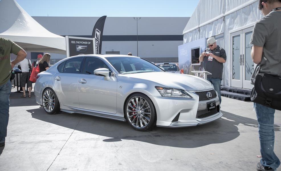 Lexus Should Build the Supercharged GS F Sport Show Car 2012 SEMA