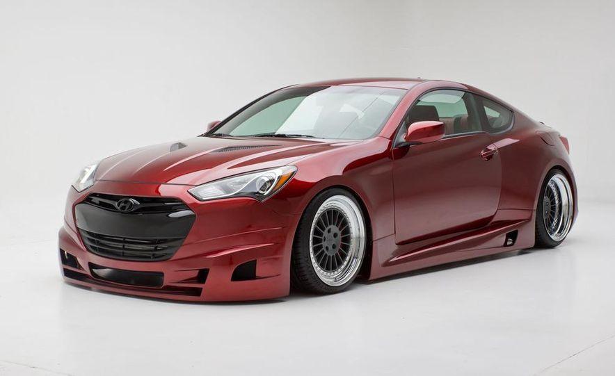 Hyundai FuelCulture Genesis coupe concept - Slide 5