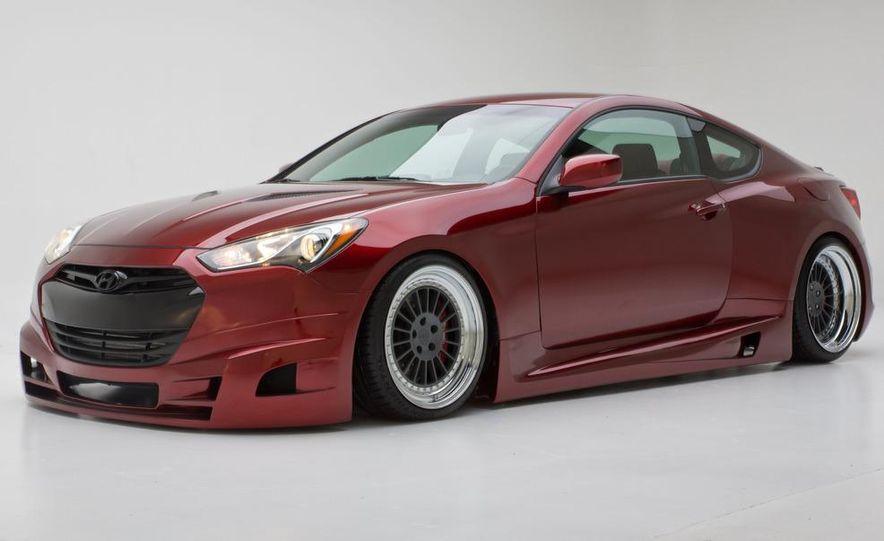 Hyundai FuelCulture Genesis coupe concept - Slide 7