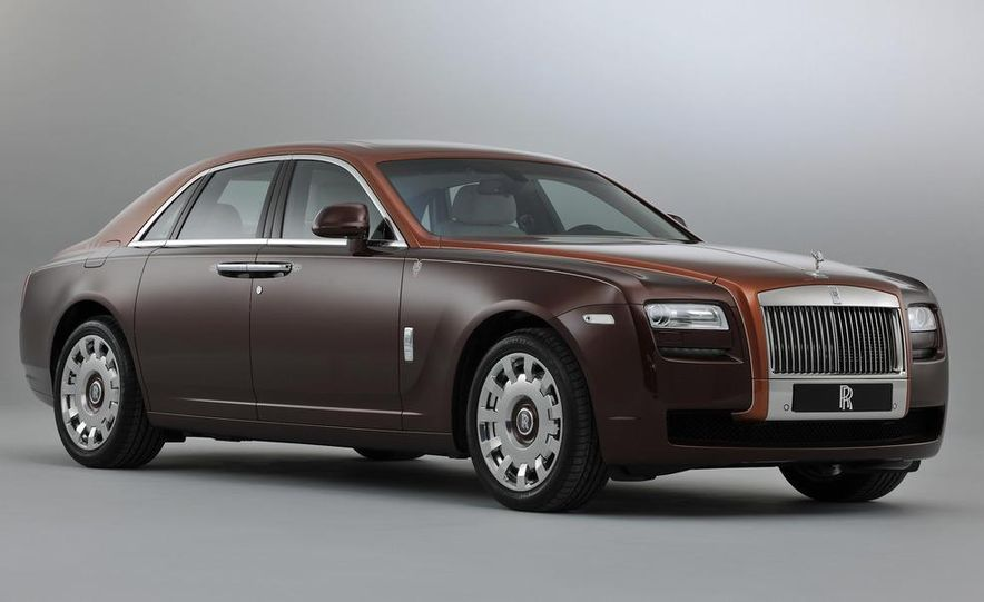 Rolls-Royce Ghost One Thousand and One Nights Bespoke special edition - Slide 1