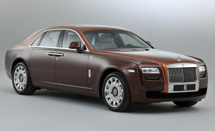 Rolls-Royce Ghost One Thousand and One Nights Bespoke special edition - Slide 2