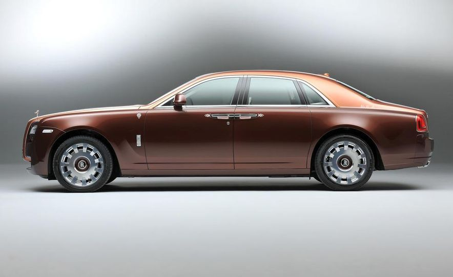 Rolls-Royce Ghost One Thousand and One Nights Bespoke special edition - Slide 3