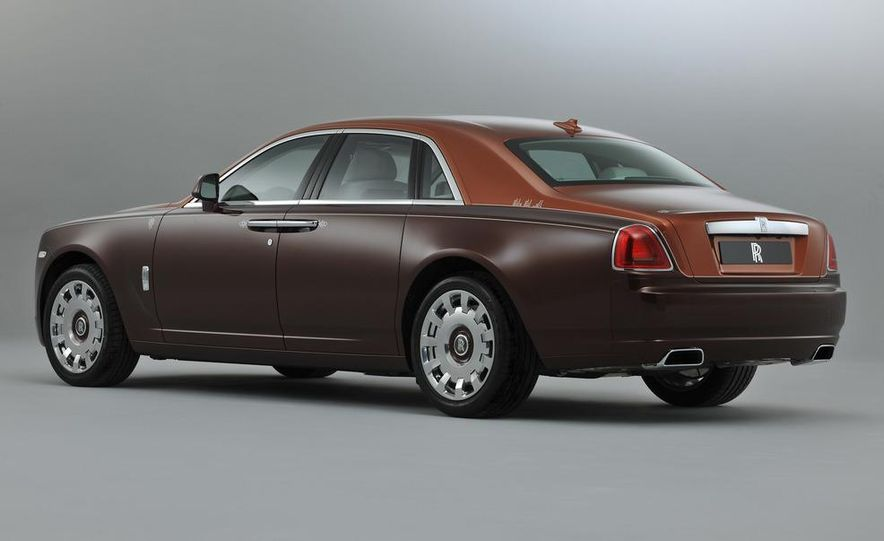 Rolls-Royce Ghost One Thousand and One Nights Bespoke special edition - Slide 4
