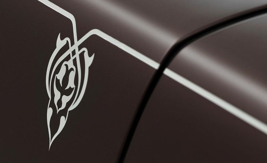 Rolls-Royce Ghost One Thousand and One Nights Bespoke special edition - Slide 7