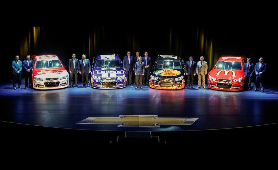 2013 Chevrolet SS NASCAR race cars - Slide 1
