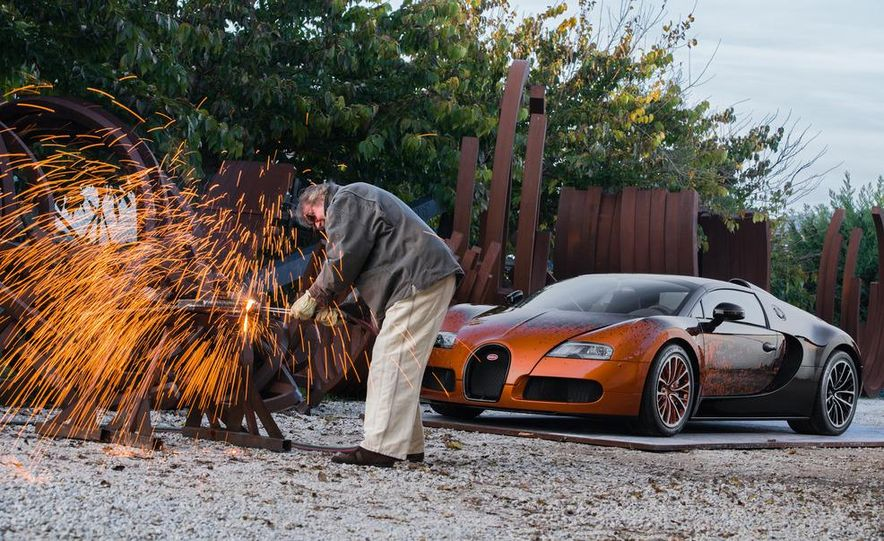 Bugatti Veyron Grand Sport Venet - Slide 3