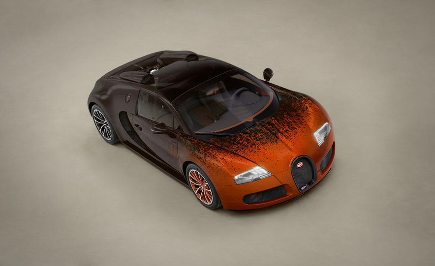 Bugatti Veyron Grand Sport Venet - Slide 7
