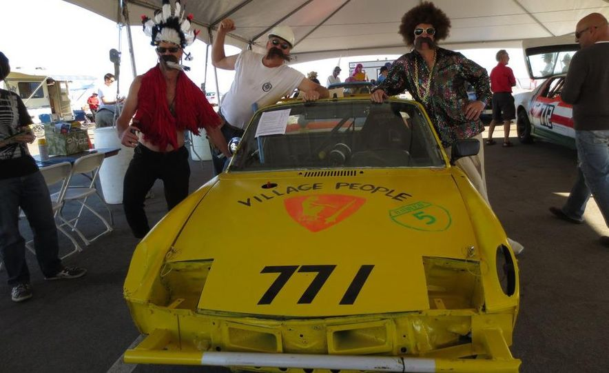 24 Hours of LeMons Arse Freeze-a-Palooza BS Inspections: Saab-ified Honda 600, Ace Rothstein's Cadillac Biarritz - Slide 14
