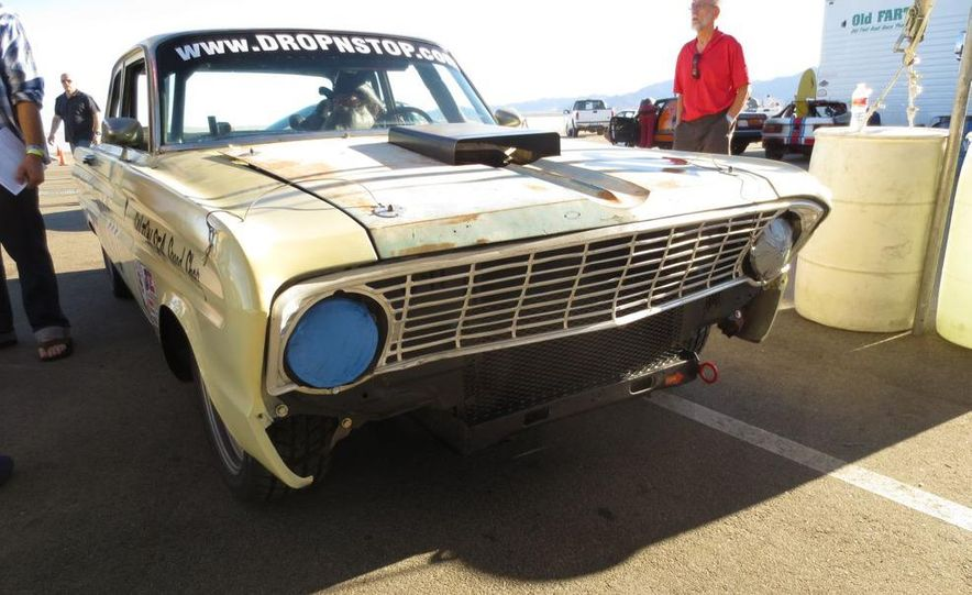 24 Hours of LeMons Arse Freeze-a-Palooza BS Inspections: Saab-ified Honda 600, Ace Rothstein's Cadillac Biarritz - Slide 16