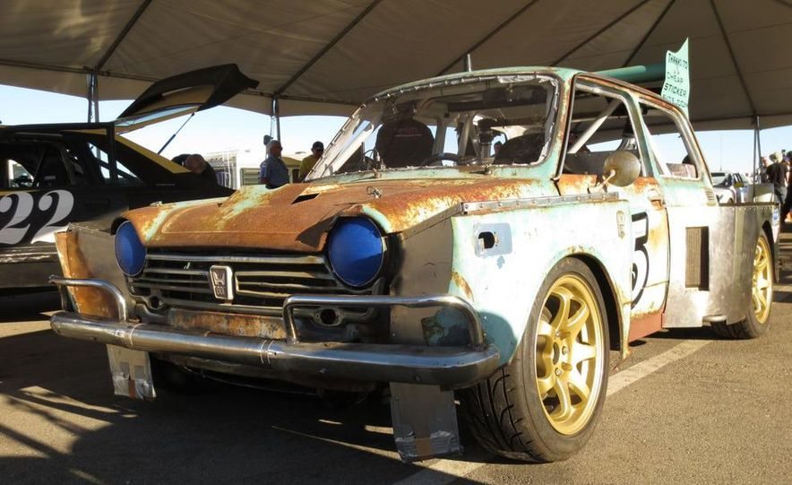 24 Hours of LeMons Arse Freeze-a-Palooza BS Inspections: Saab-ified Honda 600, Ace Rothstein's Cadillac Biarritz - Slide 20
