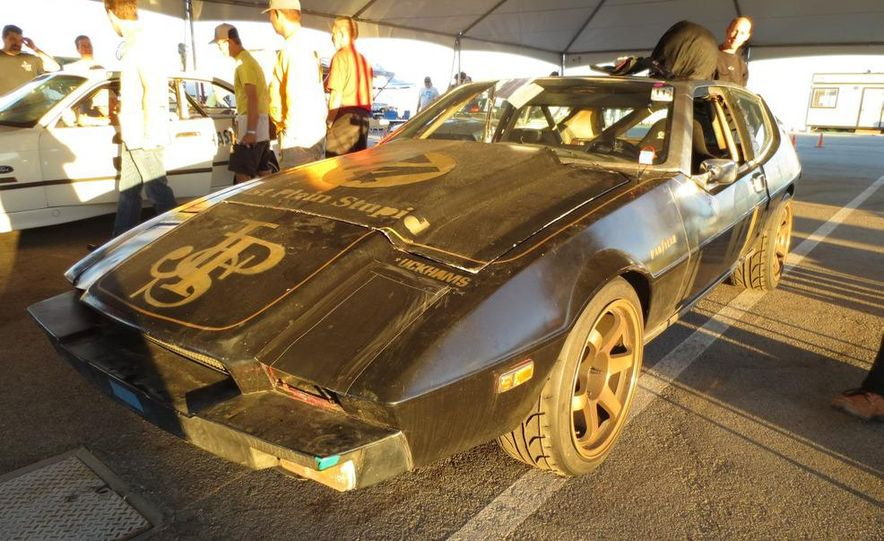 24 Hours of LeMons Arse Freeze-a-Palooza BS Inspections: Saab-ified Honda 600, Ace Rothstein's Cadillac Biarritz - Slide 40
