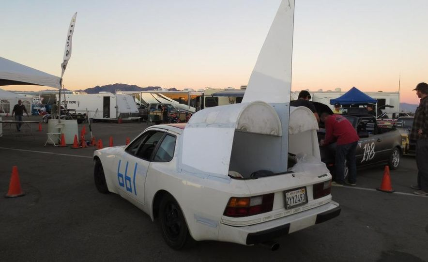 24 Hours of LeMons Arse Freeze-a-Palooza BS Inspections: Saab-ified Honda 600, Ace Rothstein's Cadillac Biarritz - Slide 42