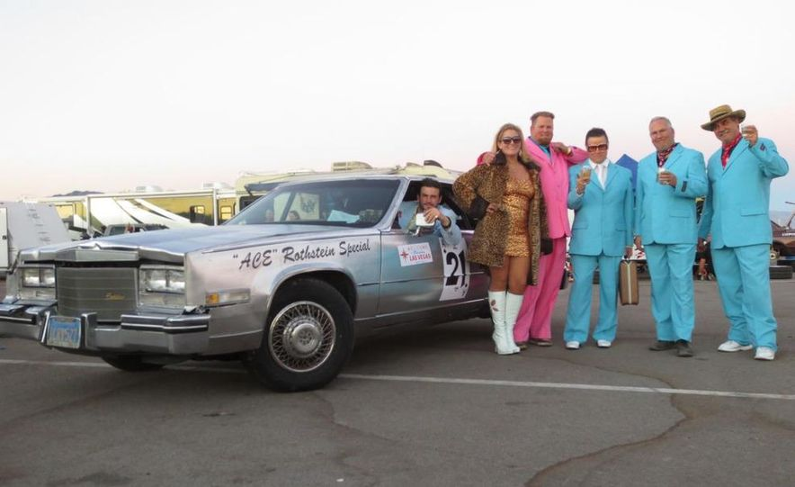 24 Hours of LeMons Arse Freeze-a-Palooza BS Inspections: Saab-ified Honda 600, Ace Rothstein's Cadillac Biarritz - Slide 45