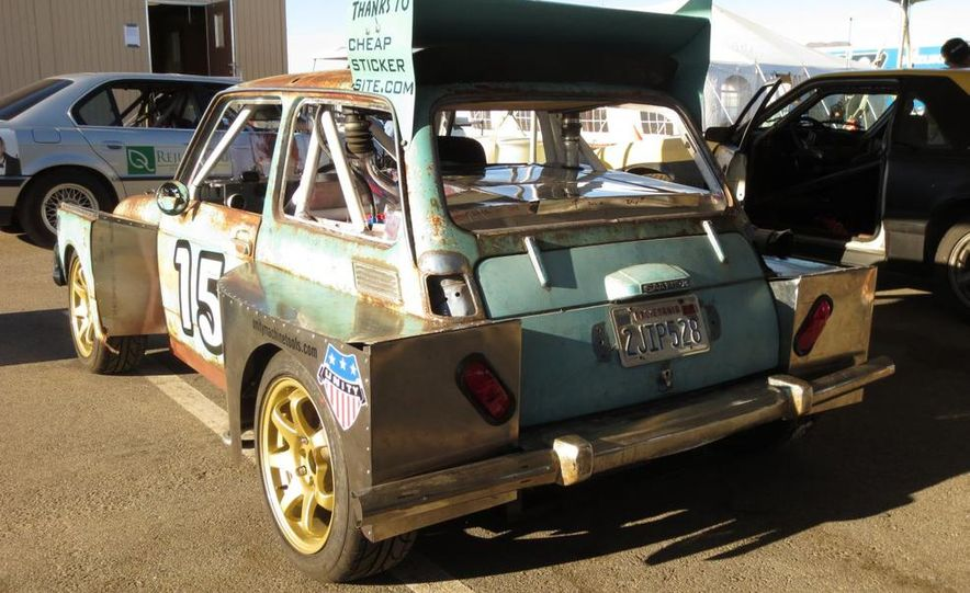 24 Hours of LeMons Logic: Why Not Build a Mid-Engined, Saab-Powered Honda 600? - Slide 1