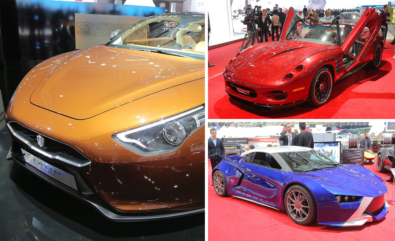 10 of the Wildest Cars from the 2013 Geneva Auto Show
