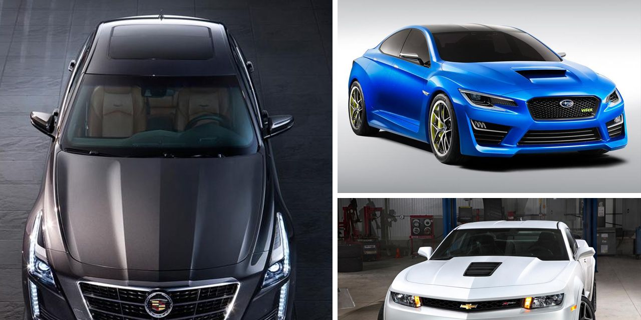 The 10 Must-See Debuts from the 2013 New York Auto Show
