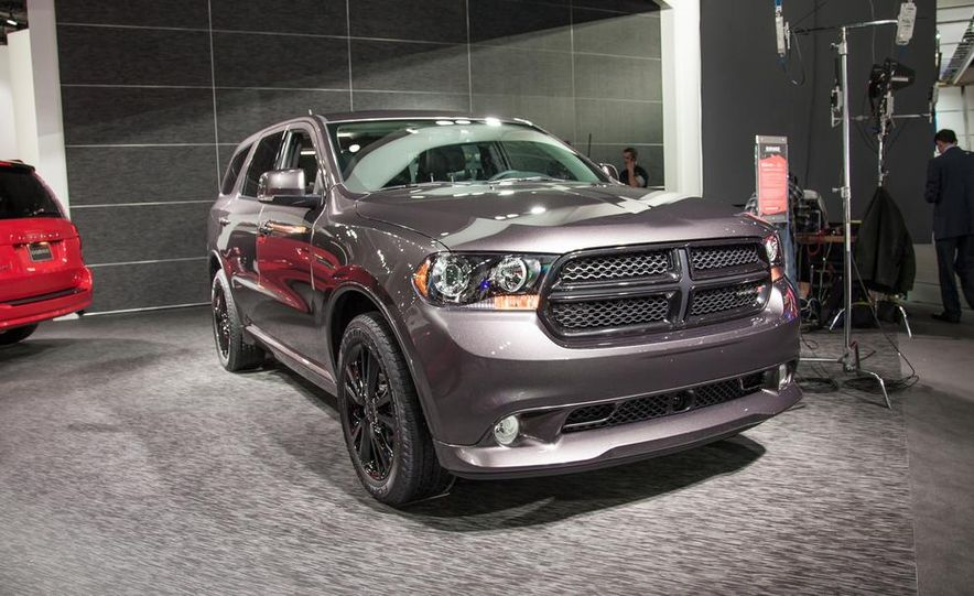 2013 Dodge Durango Blacktop edition - Slide 1