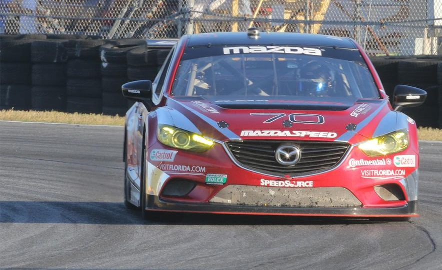 Behind the Scenes with the Diesel-Powered Mazda 6 Grand-Am Racer - Slide 2