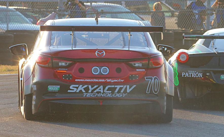 Behind the Scenes with the Diesel-Powered Mazda 6 Grand-Am Racer - Slide 4