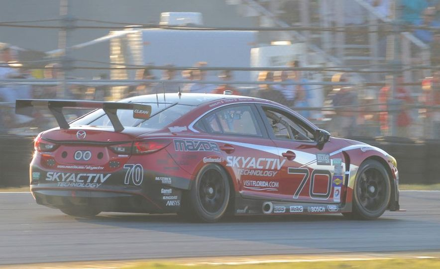 Behind the Scenes with the Diesel-Powered Mazda 6 Grand-Am Racer - Slide 5