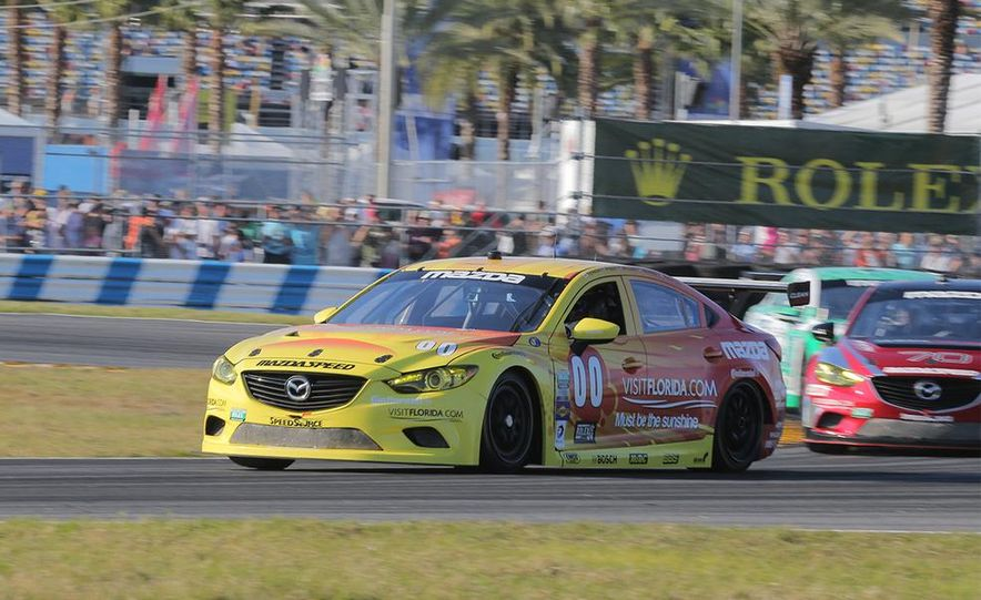 Behind the Scenes with the Diesel-Powered Mazda 6 Grand-Am Racer - Slide 6
