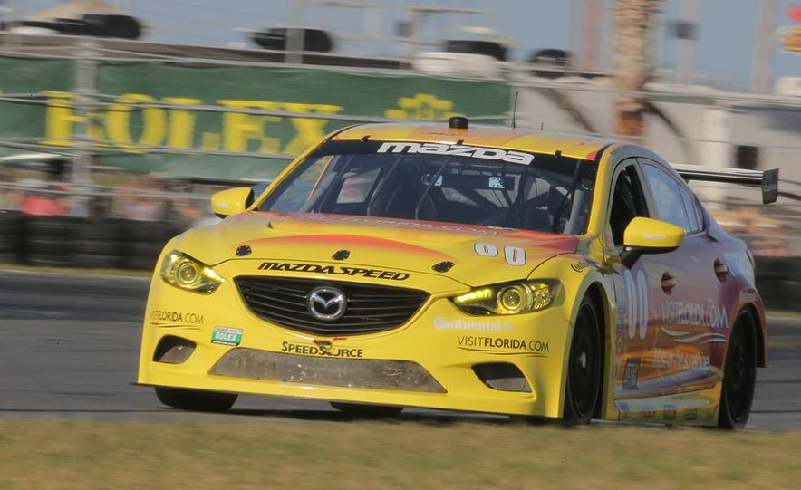 Behind the Scenes with the Diesel-Powered Mazda 6 Grand-Am Racer - Slide 7