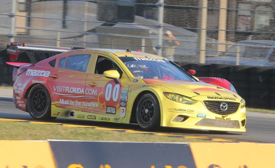 Behind the Scenes with the Diesel-Powered Mazda 6 Grand-Am Racer - Slide 8