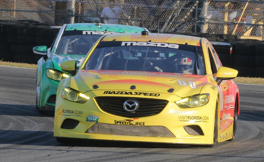 Behind the Scenes with the Diesel-Powered Mazda 6 Grand-Am Racer - Slide 9