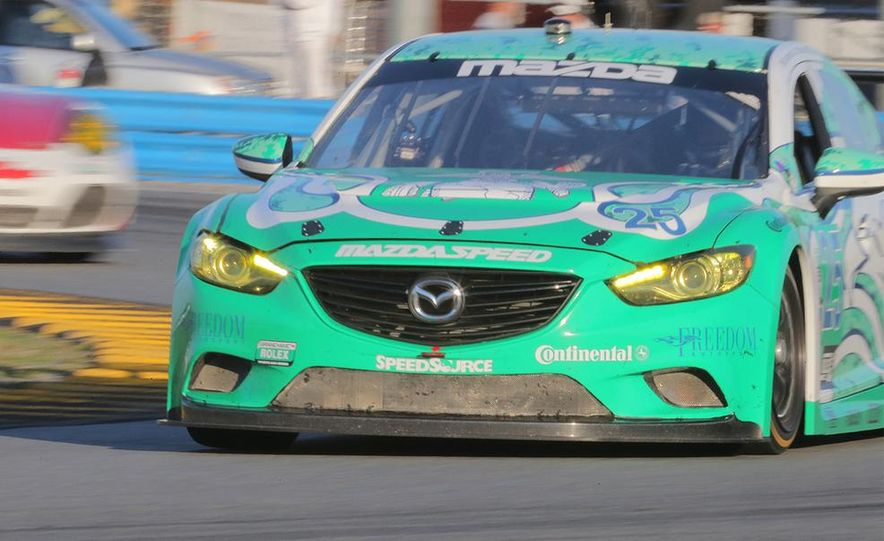 Behind the Scenes with the Diesel-Powered Mazda 6 Grand-Am Racer - Slide 10
