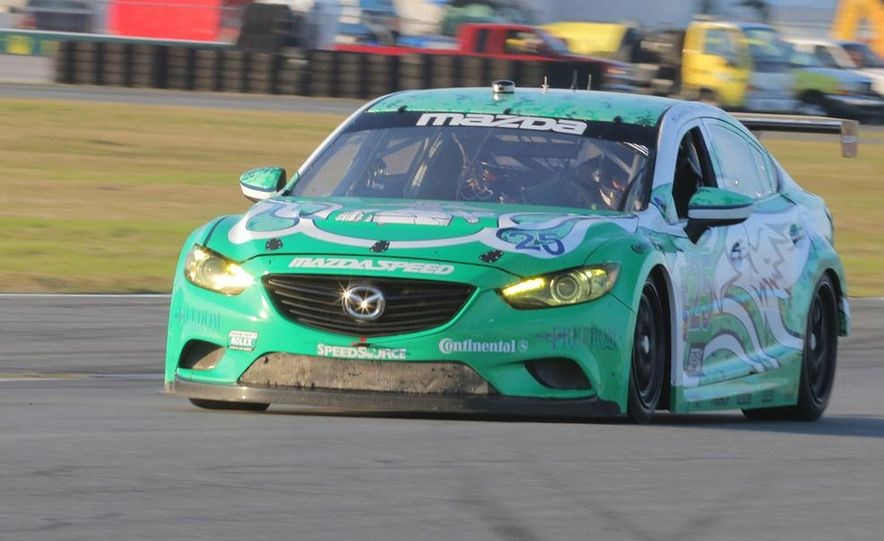 Behind the Scenes with the Diesel-Powered Mazda 6 Grand-Am Racer - Slide 11