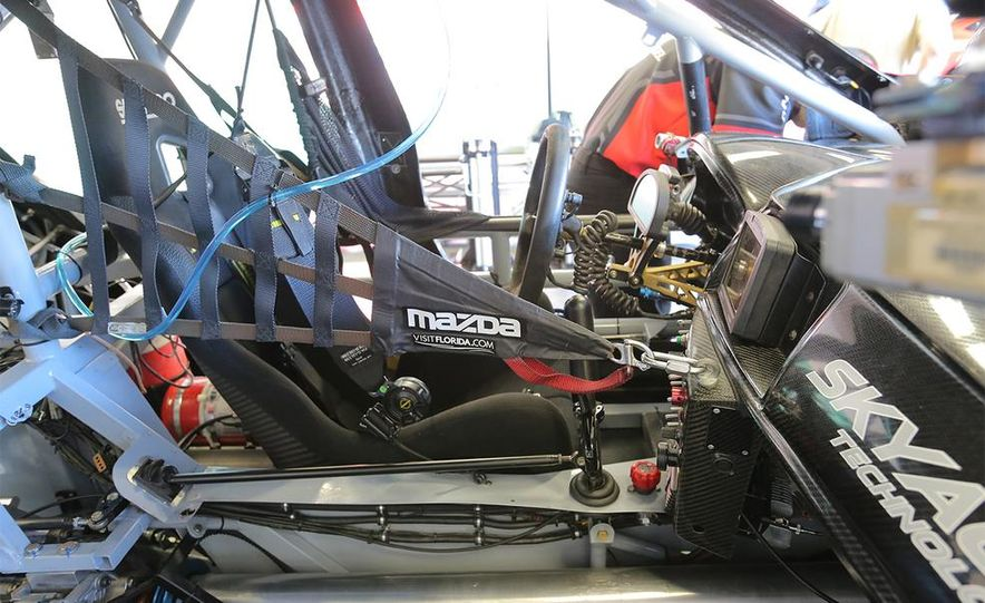 Behind the Scenes with the Diesel-Powered Mazda 6 Grand-Am Racer - Slide 12