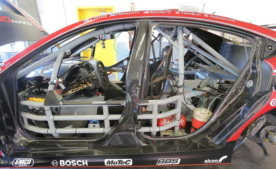 Behind the Scenes with the Diesel-Powered Mazda 6 Grand-Am Racer - Slide 13